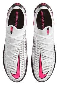 Nike Performance - PHANTOM GT ELITE FG - Chaussures de foot à crampons - weiss/pink (979) - 1