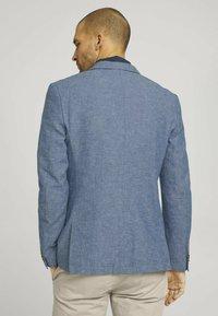 TOM TAILOR - Blazer jacket - woven blue melange - 2