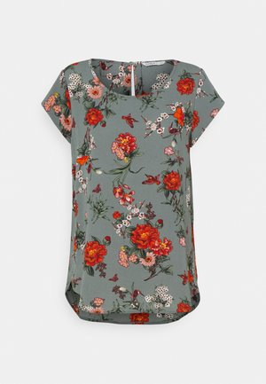 ONLNOVA LUX - T-shirt print - balsam green