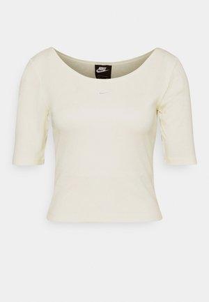SCOOP - T-shirt basic - coconut milk/white
