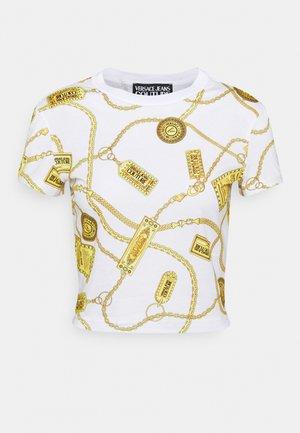 Print T-shirt - white