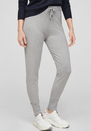 SOFTE - Tracksuit bottoms - grey melange