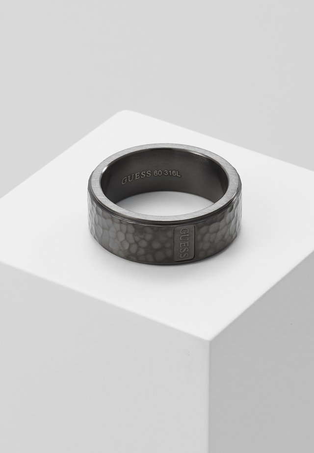 HAMMERED BAND RING  - Anello - gunmetal