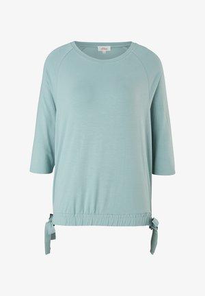 À NŒUDS DÉCORATIFS - Long sleeved top - light green