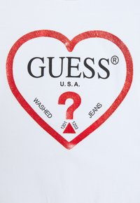 Guess - JUNIOR - Top s dlouhým rukávem - true white - 2