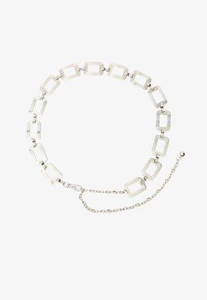 KETTEN - Belt - silver-coloured