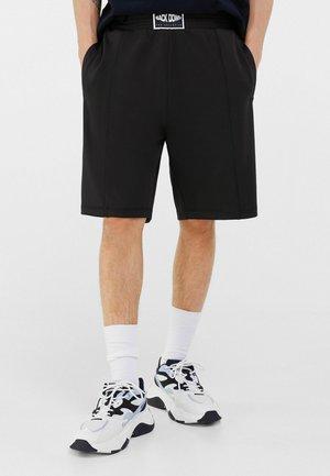 BOXING BERMUDA SHORTS 02746692 - Teplákové kalhoty - black