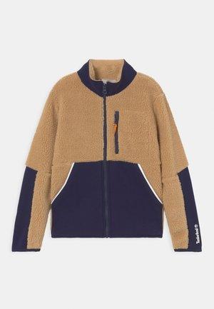 Zip-up sweatshirt - sand