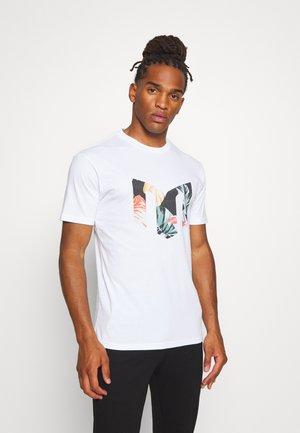 AARHUS  - Print T-shirt - white
