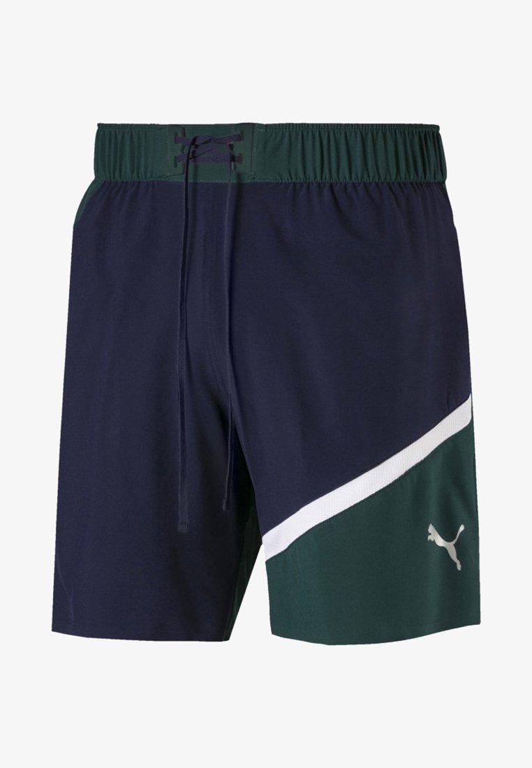 Puma - Sports shorts - peacoat-ponderosa pine