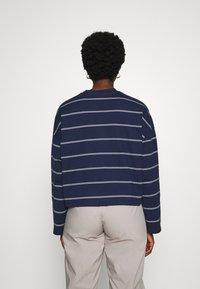 Nike Sportswear - STRIPE - Jumper - midnight navy/white - 3