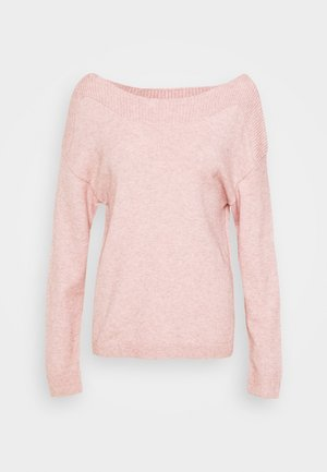 VIRIL BOATNECK - Jumper - pale mauve/melange