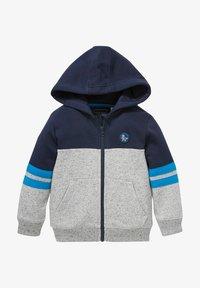 C&A - Zip-up sweatshirt - dark blue / gray - 0
