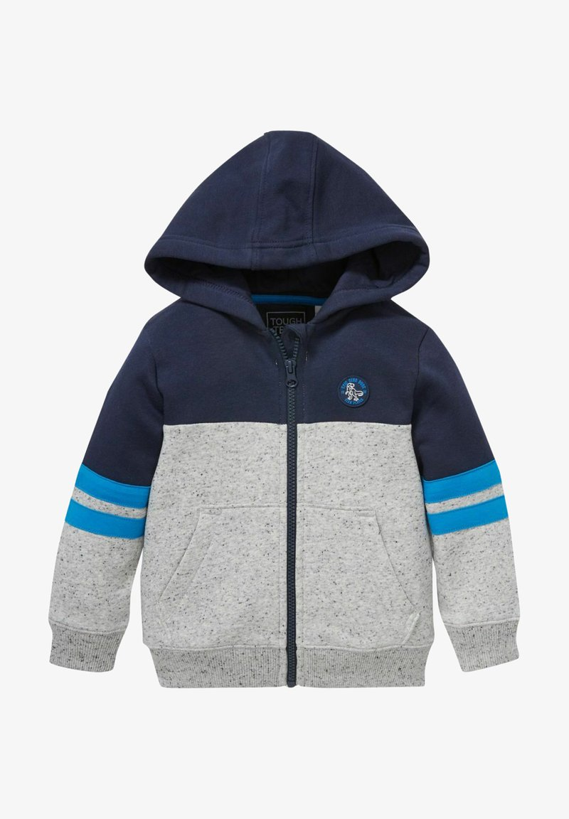 C&A - Zip-up sweatshirt - dark blue / gray