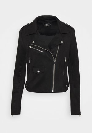 ONLSHERRY BIKER - Giacca in similpelle - black