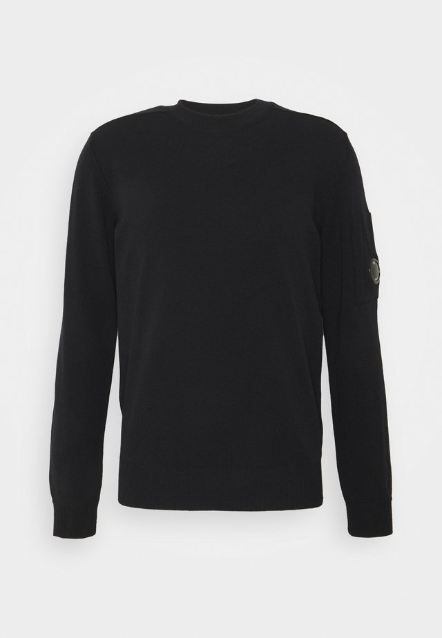 CREW NECK - Trui - black