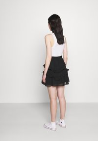 Trendyol - SIYAH - A-line skirt - black - 2