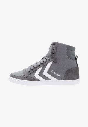 SLIMMER STADIL - High-top trainers - castle rock/white