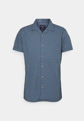 PRINT BOWLING FLOWERS - Shirt - blue
