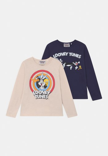 WARNER BROTHERS LOONEY 2 PACK UNISEX - Maglietta a manica lunga - multicoloured