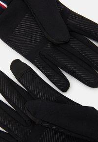 Tommy Hilfiger - MENS TOUCH GLOVES - Gloves - black - 1