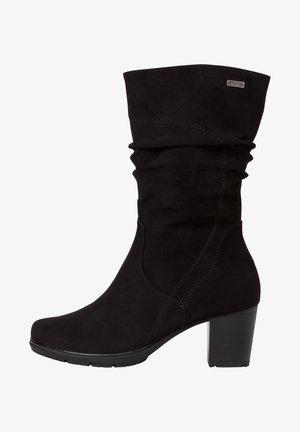 STIEFELETTE - Cowboystøvletter - black