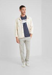 BOSS - LEEMAN - Kalhoty - light beige - 1