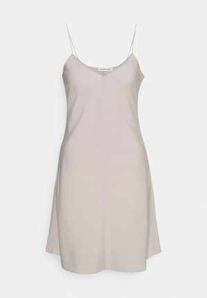 VALERIE SLIP DRESS - Denní šaty - light grey