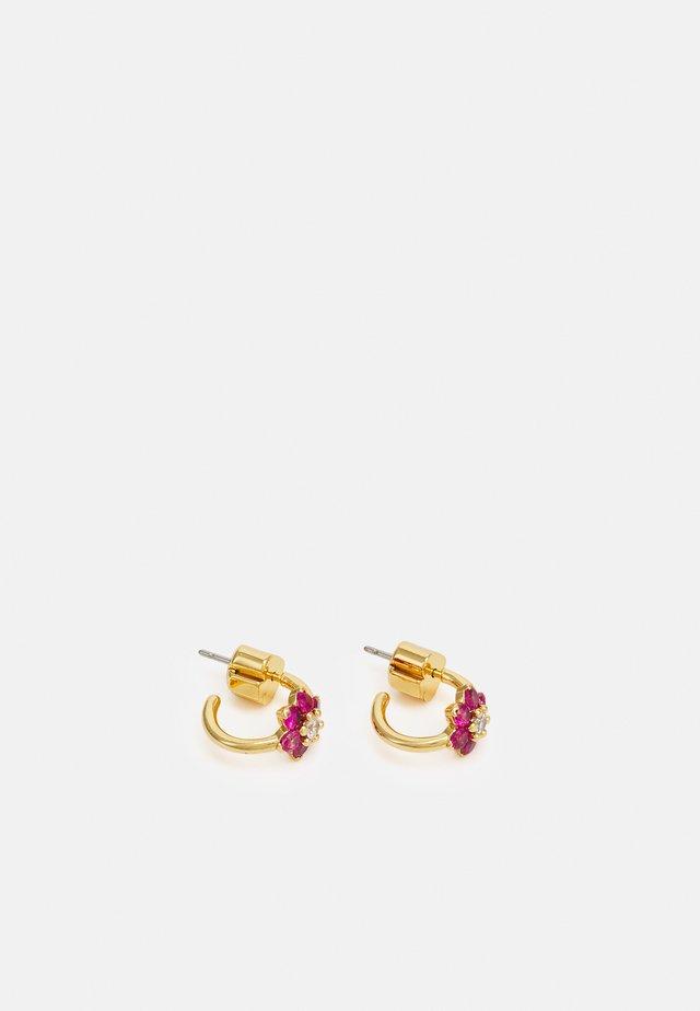 FLOWER HUGGIES - Earrings - pink