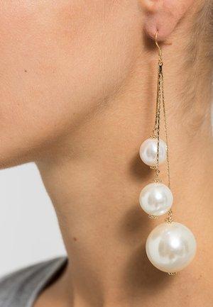 CELENTA - Ohrringe - gold-coloured/pearl