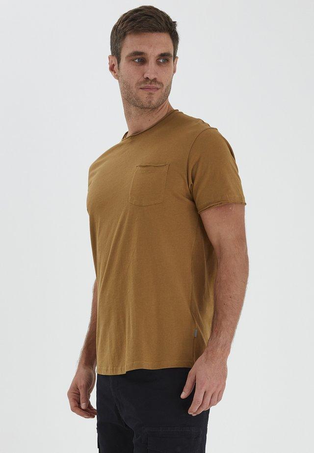 T-shirt basique - dull gold