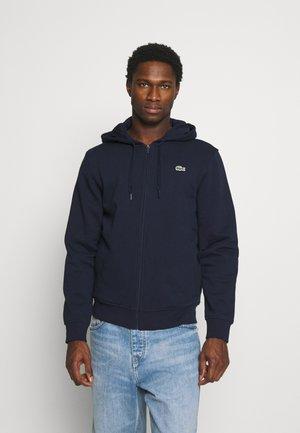 CLASSIC HOODIE - Zip-up hoodie - navy blue