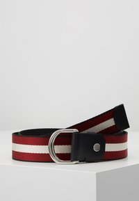Bally - COPPER - Pásek - black/bone/red/black - 0