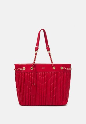 HANDBAG - Tote bag - red