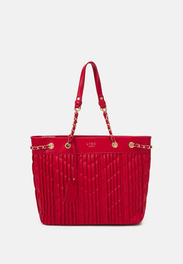 HANDBAG - Shopping bag - red