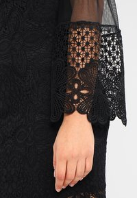 WAL G. - DETAIL MINI DRESS - Vestido de cóctel - black - 5