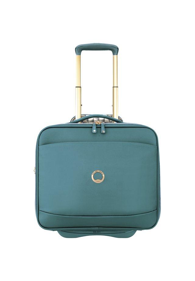 MONTROUGE 2-ROLLEN BUSINESSTROLLEY 40 CM LAPTOPFACH - Wheeled suitcase - grün
