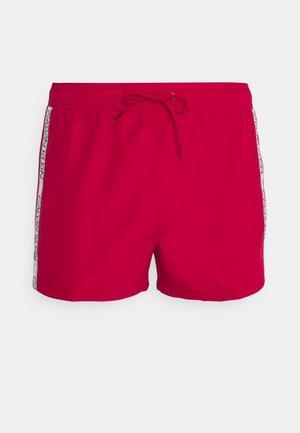 DRAWSTRING - Swimming shorts - red