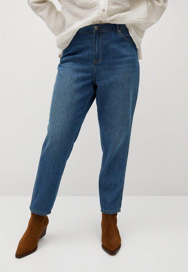 MARINA - Jeansy Straight Leg - dunkelblau