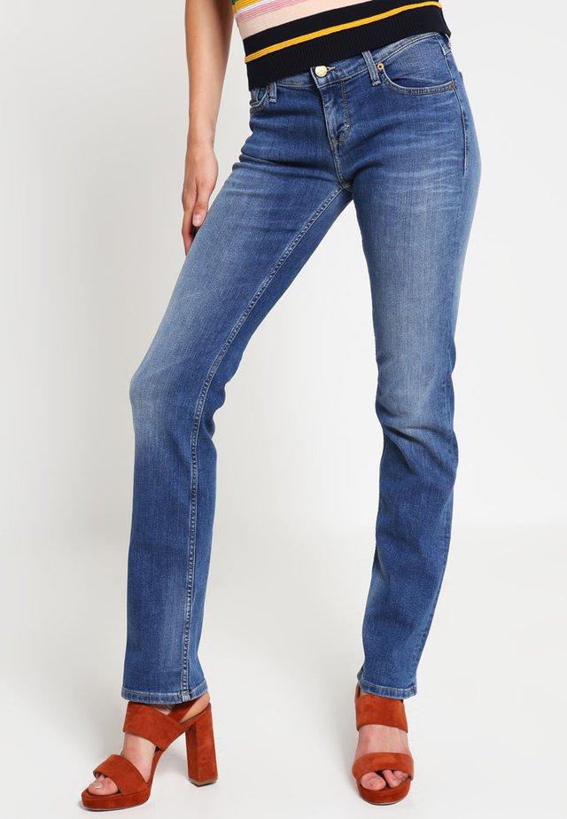 GIRLS OREGON - Straight leg jeans - brushed bleached