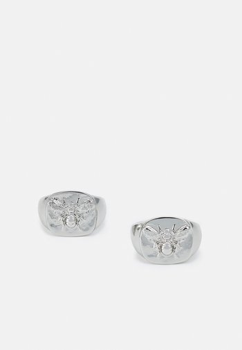 BEE SIGNET 2 PACK - Ringar - silver-coloured