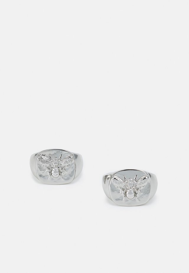 BEE SIGNET 2 PACK - Ring - silver-coloured