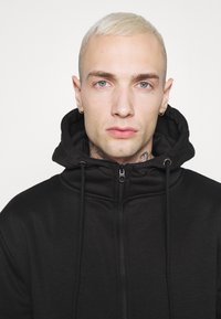 Brave Soul - LANISTER - Zip-up hoodie - jet black - 6