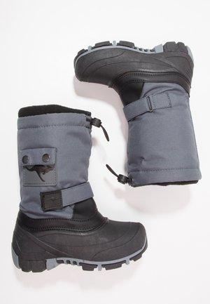 KANGA-BEAN 2007 - Winter boots - dark grey