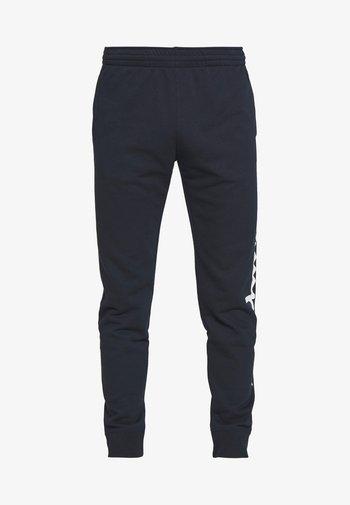 CUFF PANTS - Pantaloni sportivi - dark blue