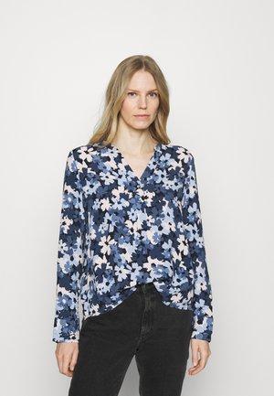 BLOUSE - Långärmad tröja - dark blue