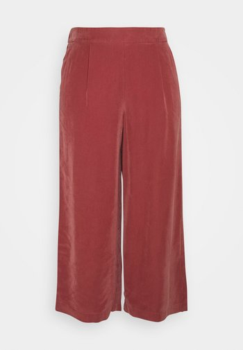 ONLCARISA MAGO LIFE CULOTTE PANT  - Trousers - apple butter