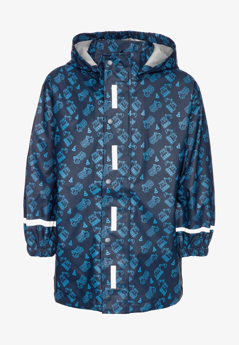 Playshoes - BAUSTELLE ALLOVER - Impermeable - marine