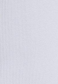 Monki - MAGDALENA TEE 2 PACK - Print T-shirt - black dark solid/lilac - 6