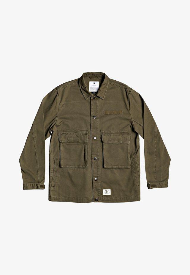 Denim jacket - FATIGUE GREEN
